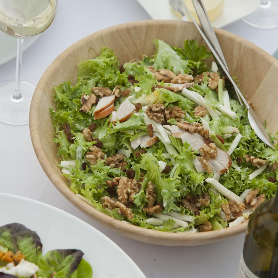 Classic Waldorf salad with green Salanova® Crispy Leaves
